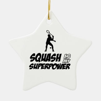 squash is my superpower christmas tree ornaments