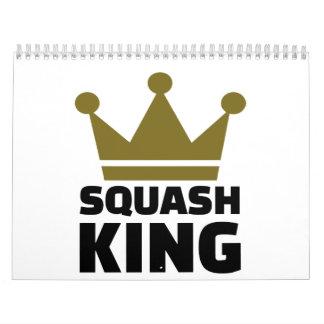 Squash King Calendar