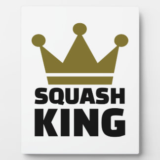 Squash King Photo Plaques