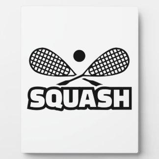 Squash Display Plaques