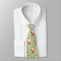 squash player Christmas novelty Neck Tie