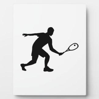 Squash player photo plaques
