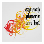 Squash Players Are Hot Poster