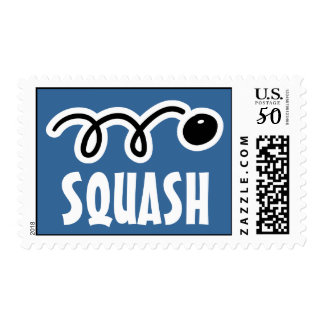 Squash postage stamp