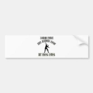 squash sports designs bumper sticker