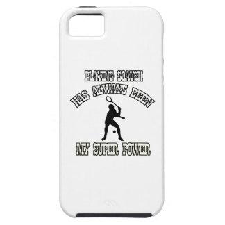squash sports designs iPhone 5 cases