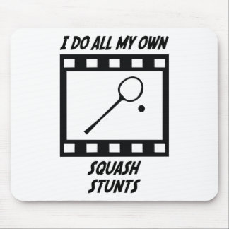Squash Stunts Mouse Pad