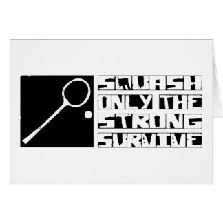 Squash Survive Card