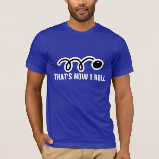 Squash tee shirt with funny slogan and ball