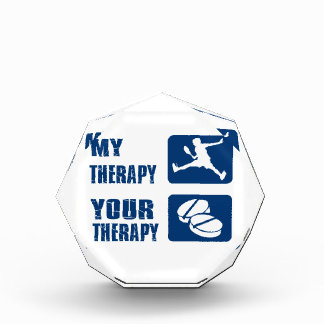 Squash therapy designs acrylic award