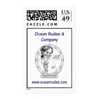 Squashblossom USPS Postage Stamps
