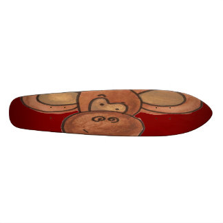 Squashed Monkey Skateboard