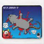 Squashed mouse mouse pad