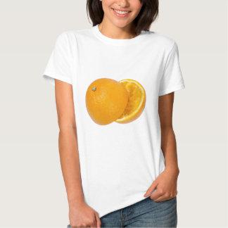 Squashed orange t shirts