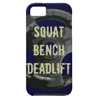 Squat Bench Deadlift iPhone SE/5/5s Case