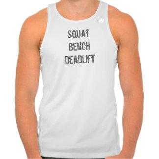 Squat Bench Deadlift Men's New Balance Tank