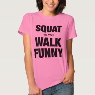 Women 39 S Funny Crossfit T Shirts Zazzle