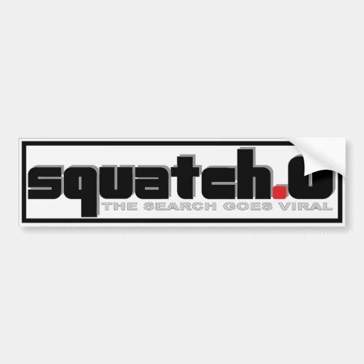 SQUATCH.0 - SQUATCH POINT O - Viral Internet Meme Bumper Sticker
