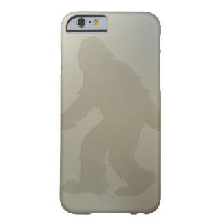Squatch behind frosted glass iPhone 6 case