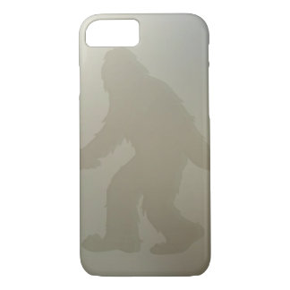 Squatch behind frosted glass iPhone 7 case