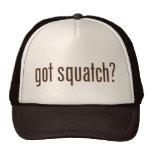 ¿Squatch conseguido? Gorra del camionero