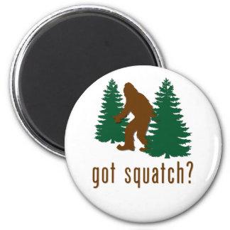 ¿Squatch conseguido? Imán Redondo 5 Cm