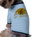 ¿Squatch conseguido? Vintage Camiseta De Mascota