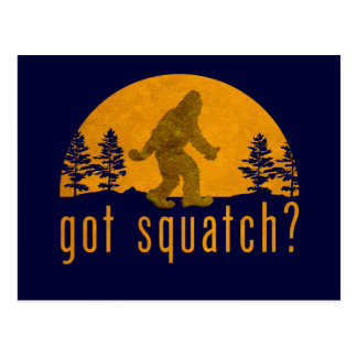 ¿Squatch conseguido? Vintage Postal