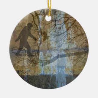 Squatch, Do You Believe Ceramic Ornament