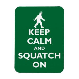 Squatch encendido imán flexible