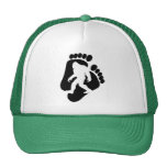 Squatch Footprints Trucker Hat