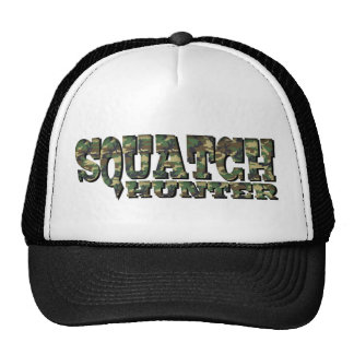 Squatch Hunter - Camo Pattern Trucker Hat