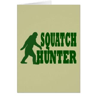 Squatch hunter card