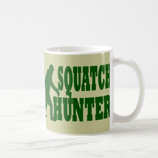 Squatch hunter coffee mug