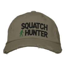 Squatch Hunter Embroidered Baseball Cap
