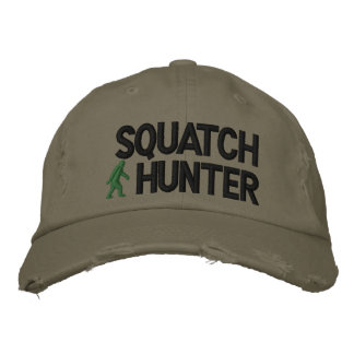 Squatch Hunter Embroidered Baseball Cap