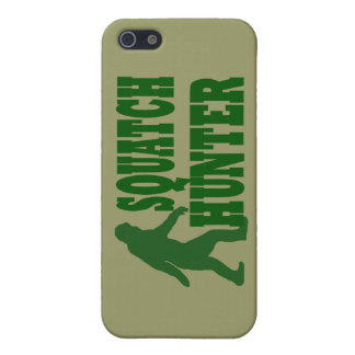 Squatch hunter iPhone SE/5/5s cover