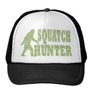Squatch hunter on camouflage trucker hat