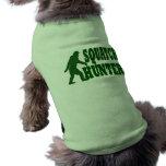 Squatch hunter pet clothes