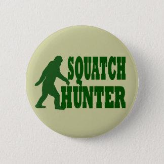 Squatch hunter pinback button