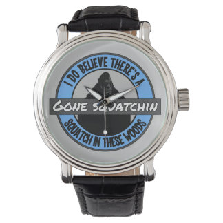 Squatch in These Woods Wrist Watch