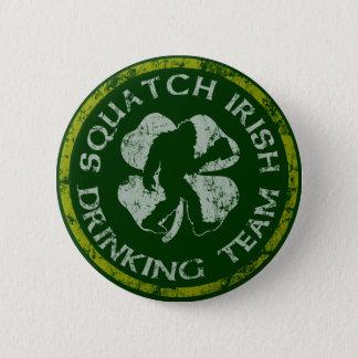 Squatch Irish Drinking Team Pinback Button