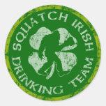 Squatch Irish Drinking Team Sticker