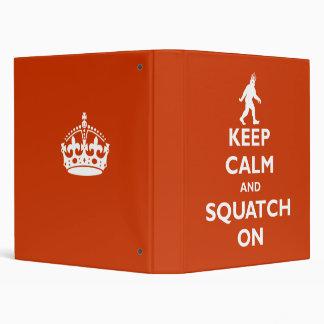 Squatch On Binder