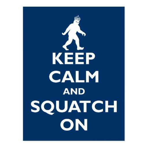 Squatch On Postcards