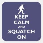 Squatch On Sticker