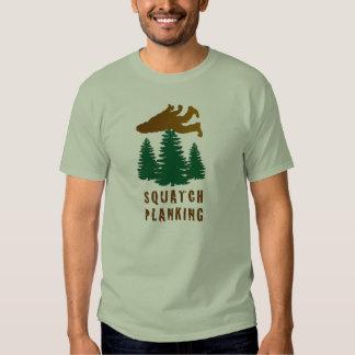 Squatch Planking T Shirt