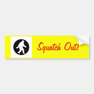 squatch.png, Squatch Out! Bumper Sticker