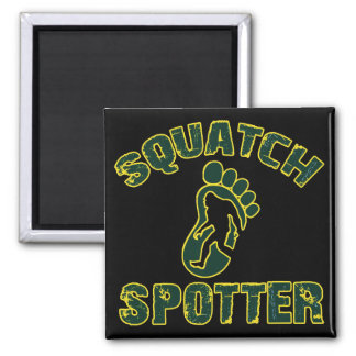 Squatch Spotter 2 Inch Square Magnet