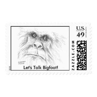 Squatch Stamp! Postage
